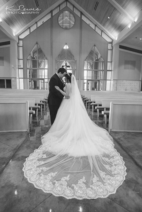 navarre wedding photographer at st sylvester catholic church