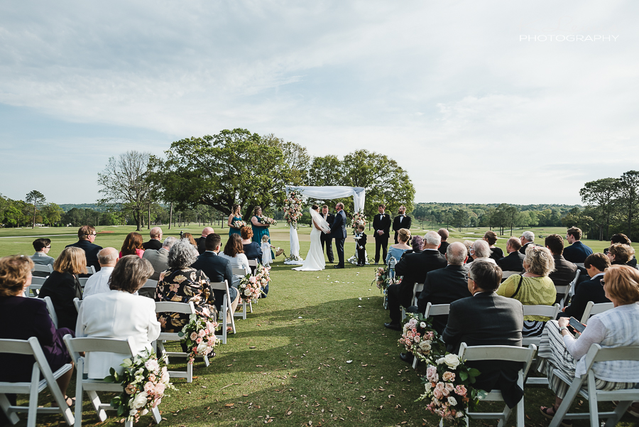 pensacola fl wedding photos at country club of mobile