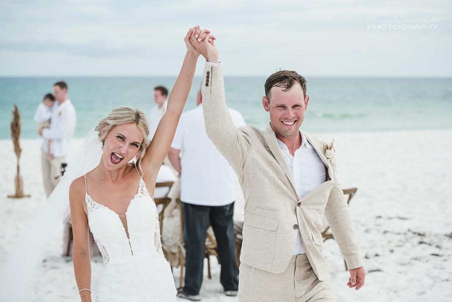 beach wedding photographers pensacola beach fl