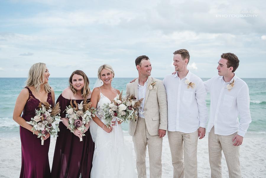 pensacola beach wedding photos