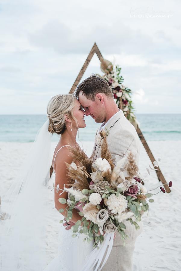 beach wedding pensacola beach florida