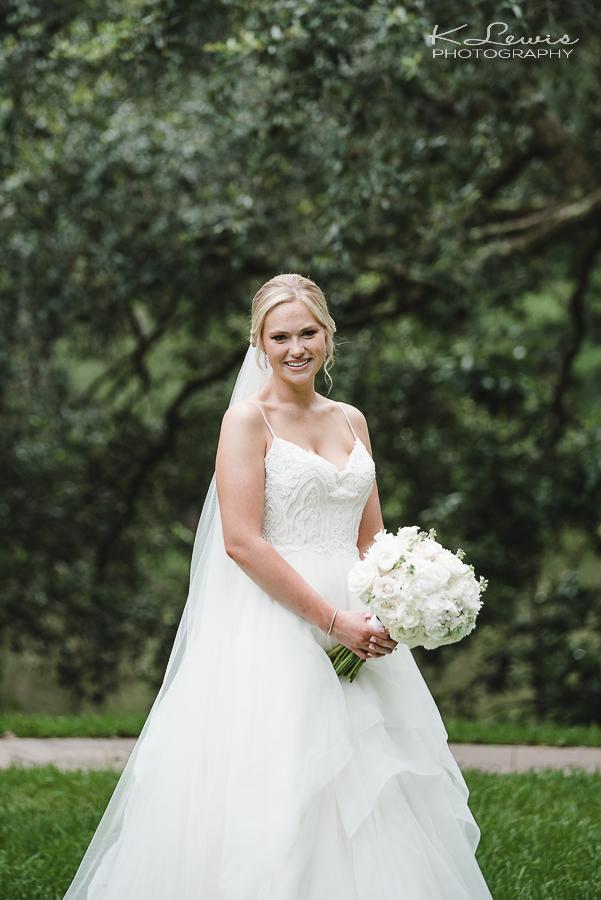 live oak plantation wedding ceremony photographer