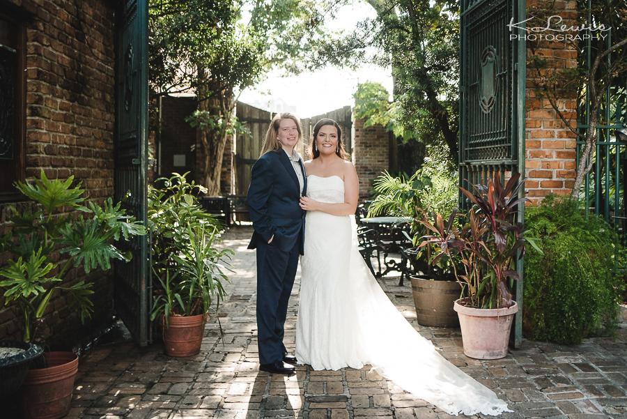 pensacola seville quarter heritage hall wedding photos