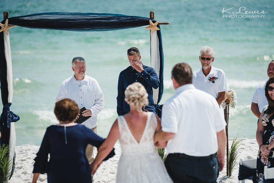 wedding photos in pensacola beach florida